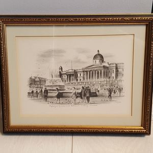 Other - Framed Picture of Trafalgar Square - London